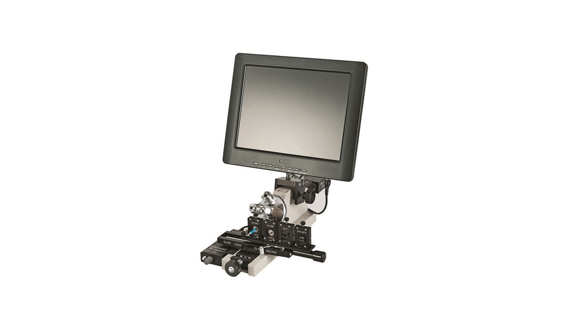 DE2503 Bench Fiber Microscope by Domaille Engineering