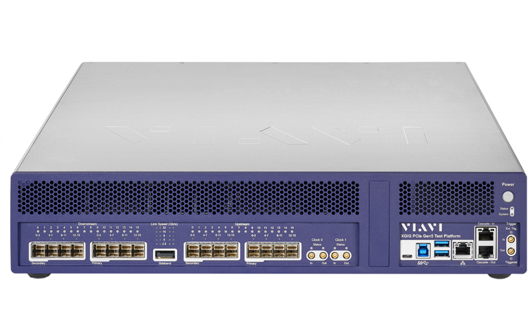 VIAVI Releases World's First 16-lane Protocol Analysis System for PCIe 5.0