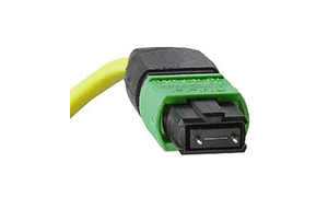 MPO connector with MT (male) ferrule, from Molex
