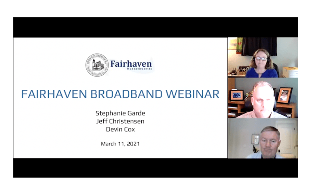 PRESS RELEASE: FOC reports on the Broadband Article presented at the March 11th Fairhaven, Massachusetts Town Meeting