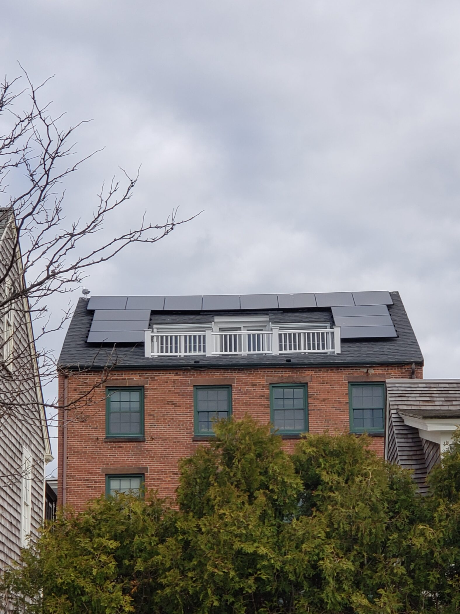 solar panel installation and steps towards a greener community